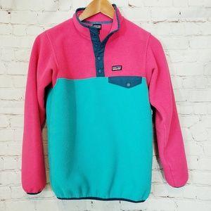 Girls Patagonia Pullover Snap Shirt